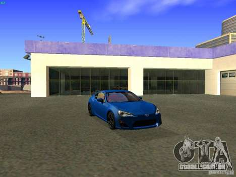 Toyota GT86 Limited para GTA San Andreas