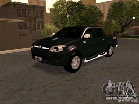 Toyota Hilux SRV 3.0 4X4 Automatica para GTA San Andreas