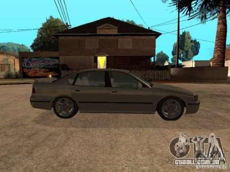 O mérito de Gta 4 para GTA San Andreas vista direita