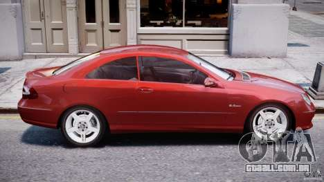 Mercedes-Benz CLK 63 AMG 2005 para GTA 4 vista superior
