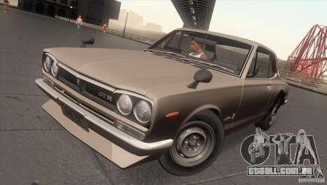 Nissan Skyline 2000 GT-R Coupe para GTA San Andreas