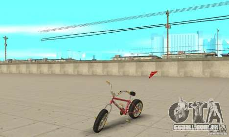 BMX Long 2 New Wheel para GTA San Andreas