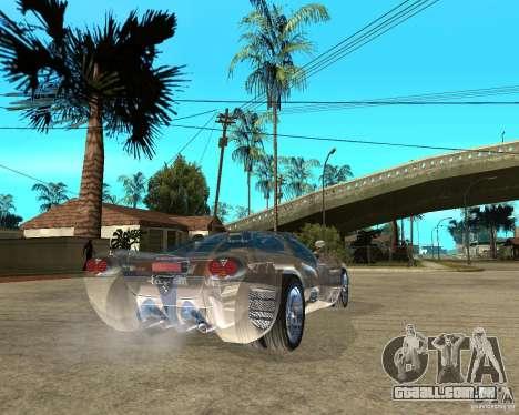 Ferrari P7 Crystal Lake para GTA San Andreas traseira esquerda vista