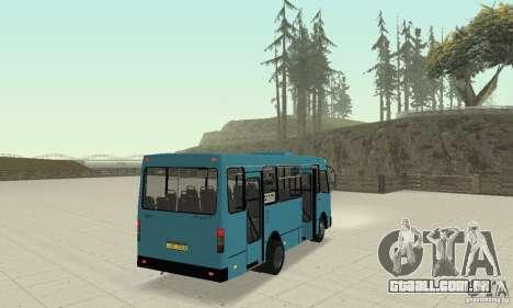Bogdan A091 para GTA San Andreas
