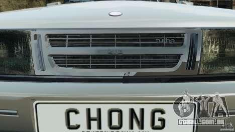 Saab 900 Coupe Turbo para GTA 4 motor