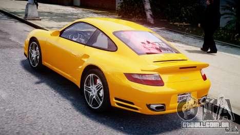 Porsche 911 Turbo V3.5 para GTA 4 traseira esquerda vista