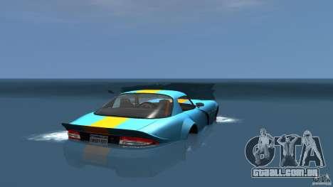 Banshee Boat para GTA 4 traseira esquerda vista