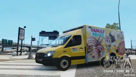 Mercedes-Benz Family Frost para GTA 4 esquerda vista