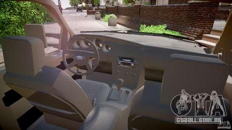 Ford F350 Marked [ELS] para GTA 4 vista de volta