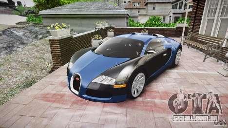 Bugatti Veyron 16.4 v3.0 2005 [EPM] Strasbourg para GTA 4 vista de volta