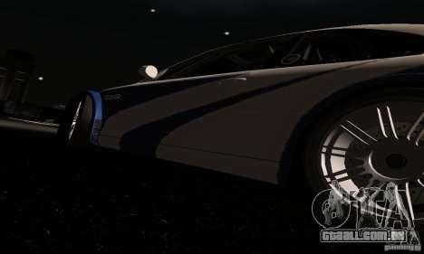 BMW M3 GTR para GTA San Andreas interior