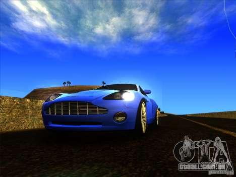 Aston Martin V12 Vanquish V1.0 para GTA San Andreas