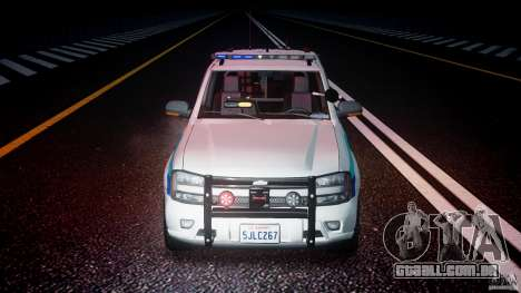 Chevrolet Trailblazer Police V1.5PD [ELS] para GTA 4 vista inferior