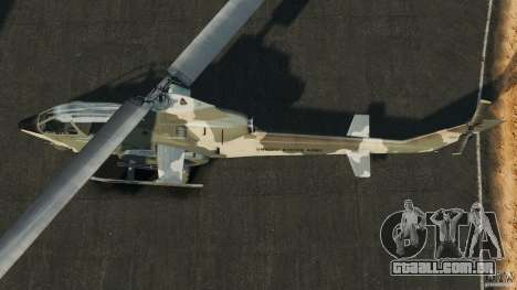 Bell AH-1 Cobra para GTA 4 vista direita
