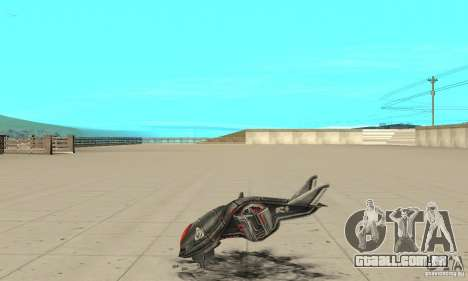 MoskiT para GTA San Andreas esquerda vista