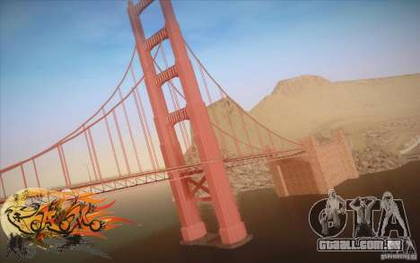 New Golden Gate bridge SF v1.0 para GTA San Andreas segunda tela