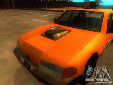 Crazy Taxi para GTA San Andreas vista traseira