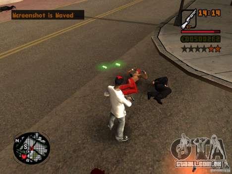 GTA IV Animation in San Andreas para GTA San Andreas terceira tela