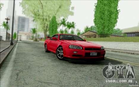 SA_DirectX 1.3 BETA para GTA San Andreas quinto tela