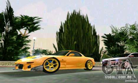 Mazda RX7 RE-Amemiya para GTA Vice City deixou vista