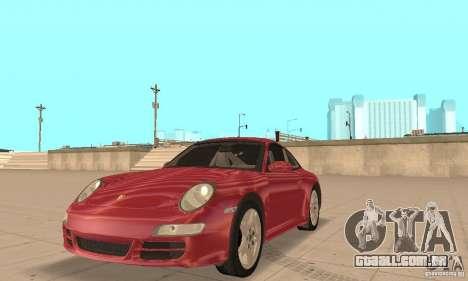Porsche 911 (997) Carrera S v1.1 para GTA San Andreas