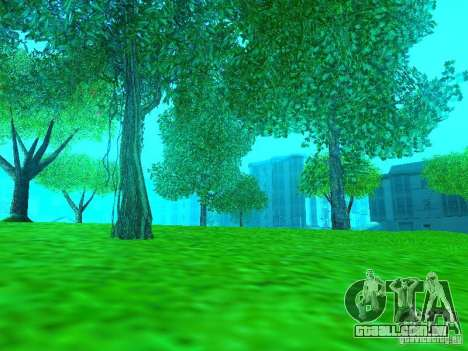 Novo Mod de cor para GTA San Andreas segunda tela