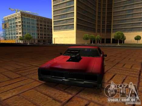 Charger Sabre para GTA San Andreas vista direita