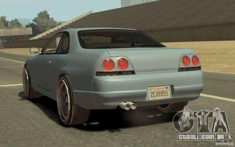 Nissan Skyline GT-R V-Spec 1997 para GTA 4 esquerda vista