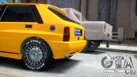 Lancia Delta HF Integrale para GTA 4 traseira esquerda vista