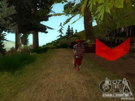Crazy Clown para GTA San Andreas segunda tela