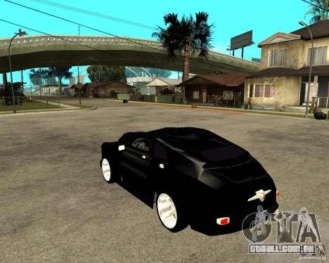 GAZ-M20 (ganhar) + tuning para GTA San Andreas esquerda vista