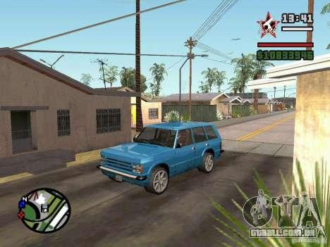 ENBSeries para GForce 5200 FX v 2.0 para GTA San Andreas terceira tela