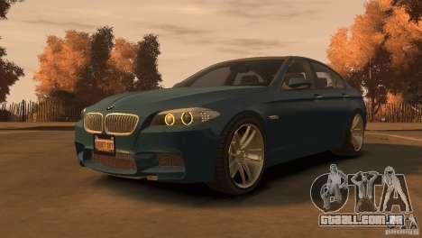 BMW 535i M-Sports para GTA 4