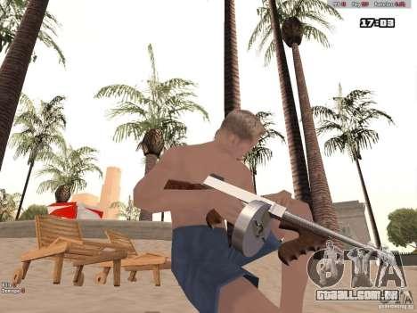 Woody Weapons Pack para GTA San Andreas terceira tela