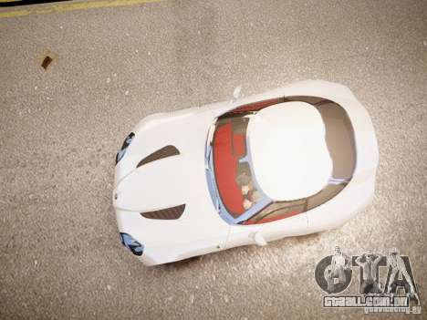 Alfa Romeo TZ3 Stradale Zagato para GTA 4 vista de volta