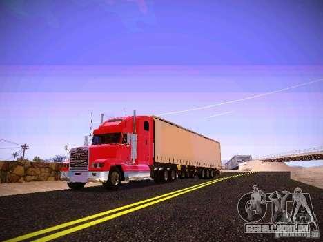 Freightliner FLD 120 para GTA San Andreas esquerda vista