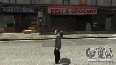 Calça jeans preta para GTA 4 segundo screenshot