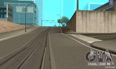 New Streets v2 para GTA San Andreas