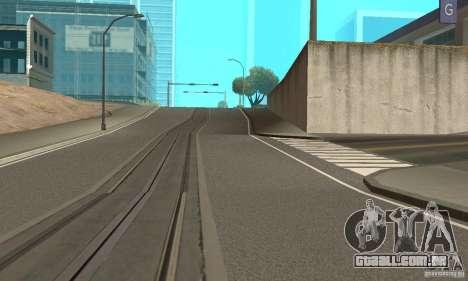 New Streets v2 para GTA San Andreas segunda tela