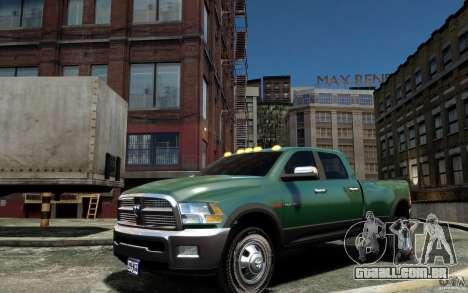 Dodge Ram 3500 Stock Final para GTA 4 esquerda vista