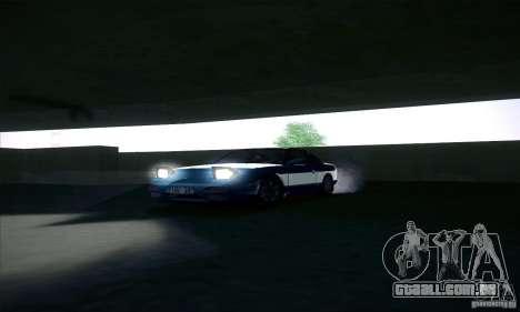 Nissan 240SX 1990 para GTA San Andreas vista interior