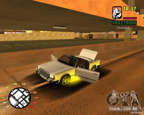 Extreme Car Mod SA:MP version para GTA San Andreas segunda tela