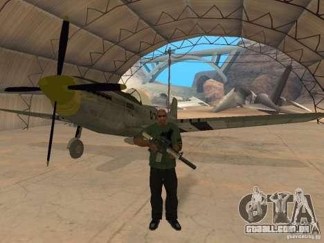 P-51 Mustang para GTA San Andreas
