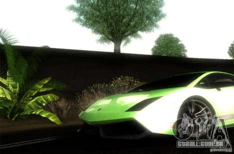 Lamborghini Gallardo LP570-4 Superleggera para GTA San Andreas vista direita