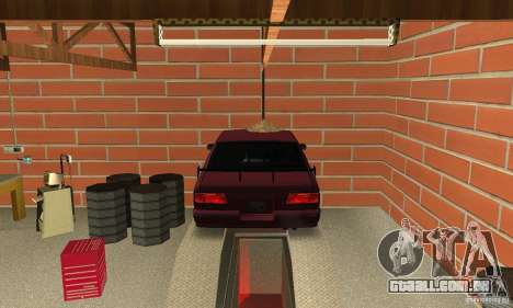 Johnsons Business (Johnsons Auto Service) para GTA San Andreas terceira tela