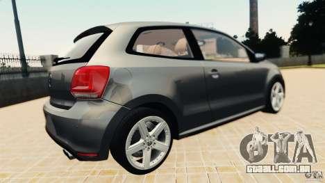 Volkswagen Polo v2.0 para GTA 4 vista direita