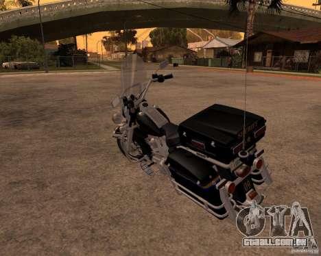 Harley Davidson Police 1997 para GTA San Andreas vista direita