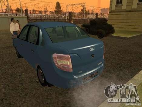VAZ 2190 para GTA San Andreas vista direita