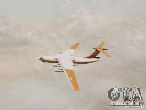Ilyushin Il-76td para GTA San Andreas vista traseira
