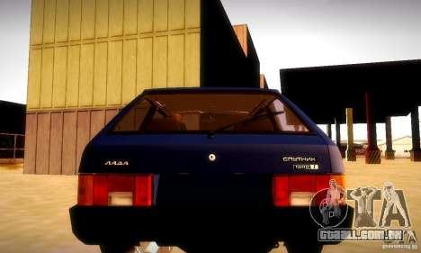 VAZ 2108 v 2.0 para GTA San Andreas esquerda vista